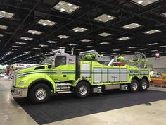 FDIC International 2017 Fire Apparatus on the Show Floor