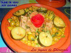 Tajine de veau aux légumes de printemps
