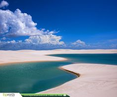 Lencois Maranhenses National Park, Brazil   Lençóis Maranhenses is a National Park in the Maranhão state of Brazil. Mostly about birdlife, shifting dunes and fresh water lakes, the latter in their best between May and September.   #southamerica #brazil #lencoismaranhenses #lencoismaranhensesnationalpark #nationalpark #flightstosouthamerica #visitsouthamerica #esperanzatravel #journeyofhope