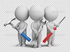 3d small people - repairers #GraphicRiver Three 3d people with the tools in the hands of. 3d image. Transparent high resolution PSD with shadows. Alpha channel. Created: 12September13 GraphicsFilesIncluded: PhotoshopPSD HighResolution: Yes Layered: No MinimumAdobeCSVersion: CS Tags: 3d #carpenter #character #construction #contractor #equipment #fix #hammer #human #job #little #man #mechanic #people #person #professional #repair #repairer #repairman #screwdriver #service #small #support #team…
