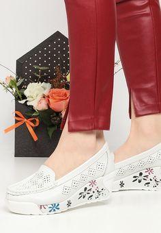 Mocasini piele naturala Havana Albi Shoes, Fashion, Moda, Zapatos, Shoes Outlet, Fashion Styles, Shoe, Footwear, Fashion Illustrations