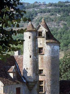 Château de Limargue. Autoire 46400. Guyenne.