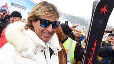 """Hansi Hinterseer Kneissl custom ski Black Star """"Hinterseer"""""""
