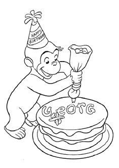 curious-george-and-cake