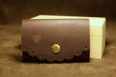 portchei din piele naturala pentru dama Leather Accessories, Card Case, Wallet, Cute, Kawaii, Purses, Diy Wallet, Purse