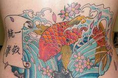 Pretty+Feminine+Koi+Fish+Tattoos++Tattoo+Design
