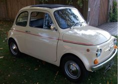 You gotta love the fi-fi-fiat Fiat 500 Car, Ebay Watches, Dream Cars, Automobile, Commercial, Van, My Style, Furniture, Vintage
