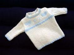 svetrík, dojčenský, pletený svetrík, návod