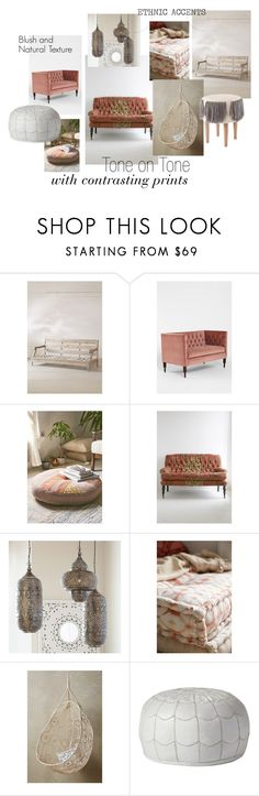 """""""Moroccan Boho"""" by soulterior on Polyvore featuring interior, interiors, interior design, home, home decor, interior decorating, Magical Thinking, Plum & Bow, Urban Outfitters and PBteen"""