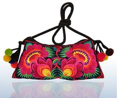 Free Shipping !hot wholesale sale design Embroidered bags national trend handmade embroidered messenger bag embroidery