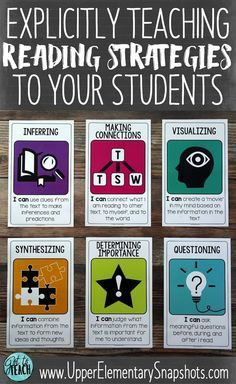 Explicitly Teaching Reading Strategies to Your Students   Why I love the book Strategies That Work and FREE posters for your classroom!