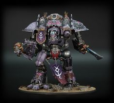From the same French blog I always post cool models from. It looks like they converted it to have sonic or sonic looking weapons, plus a bunch of freehand. I'll have to paint one someday.
