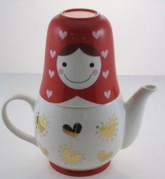 teapot by pinkrosepetal01
