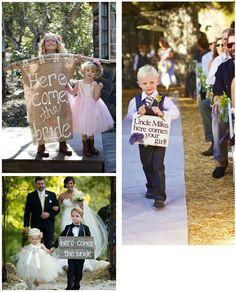 Bodas Divinas: Niños en la ceremonia