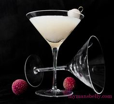 This isn't just a lychee cocktail, it's the perfect summer vodka martini recipe: a fresh lychee martini.