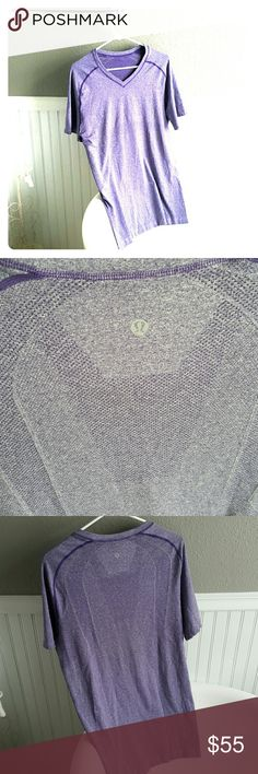 NWOT Lululemon Top! Selling a NWOT Lululemon Top! This top is very comfortable, rip tag was torn off so I can't recall what size it is, either large or XL. From shoulder to bottom of shirt is 30 inches, and is 19-20 inches wide from under arm to under arm. lululemon athletica Tops