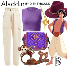 DisneyBound is meant to be inspiration for you to pull together your own outfits which work for your body and wallet whether from your closet or local mall. As to Disney artwork/properties: ©Disney Disney Bound Outfits Casual, Disney Princess Outfits, Disney Themed Outfits, Casual Outfits, Casual Clothes, Cute Disney, Disney Style, Disney Inspired Fashion, Disney Fashion