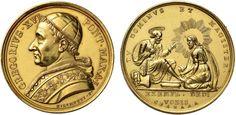 NumisBids: Nomisma Spa Auction 50, Lot 294 : Gregorio XVI (1831-1846) Medaglia A. I Lavanda – Opus: Girometti,...
