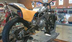 Zanotti Kawasaki 650 flat tracker