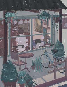 66 Ideas For Lofi Anime Aesthetic Wallpaper Pretty Art, Cute Art, Aesthetic Art, Aesthetic Anime, Paintings Tumblr, Arte 8 Bits, Anime Scenery, Oeuvre D'art, Cute Wallpapers