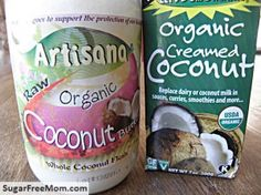 Instructions on how to use Coconut Milk, Creamed Coconut and Coconut Oil - and their differences.