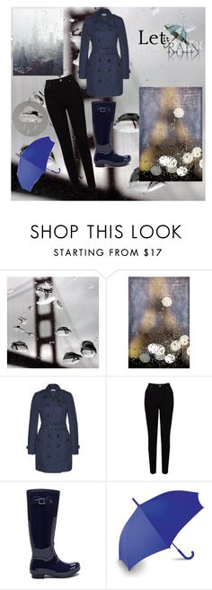 """""""Let It Rain"""" by girlie87 ❤ liked on Polyvore featuring Burberry, EAST and LEXON"""