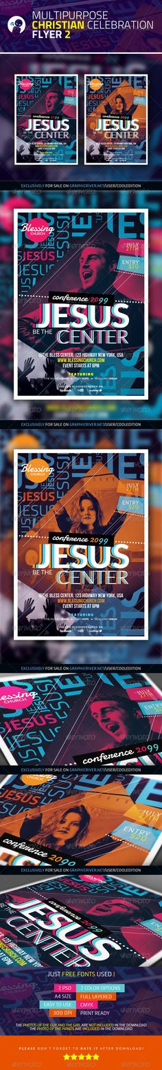 Resurrection Day Concert Flyer Template Concerts, Concert flyer - christian flyer templates