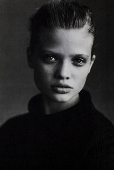 Mélanie Thierry (1997), by Peter Lindbergh