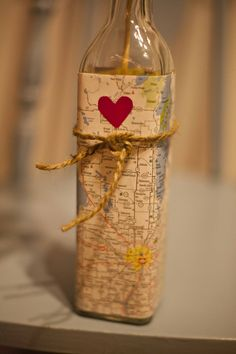 #30: Wine bottles and travel theme! <3