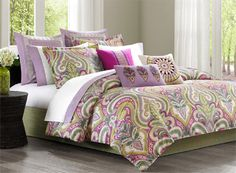 Vineyard Paisley by Echo Bedding *New*