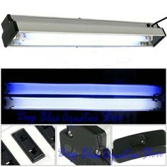 LOOK:  PERFECT ALL New Ocean Blue Fish Tank Aquarium T8 HO Top Light Lighting Lamp white and Blue 20 inches