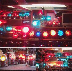 Lights And Sirens, Emergency Lighting, Emergency Vehicles, Ambulance, Fire Trucks, Cops, Old School, Police, Christmas Tree