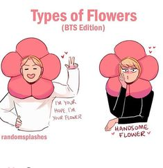 Those two are beautiful flowers