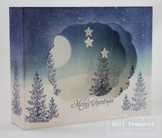 Merry Christmas to all my lovely friends and followers. On this beautiful Christmas morning, I'm sharing a very special diorama card I made for my daughter and son-in-law… The inspiration came fro...