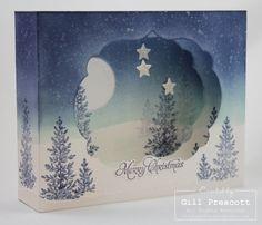 Christmas diorama card ...