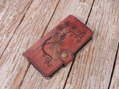 Handmade Leather Phone Case/IPhone 6 Plus Phone by HandmadeByBodzi