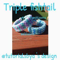 Here is my fab triple fishtail! Fishtail Bracelet, Design
