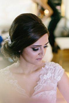 Tulle - Acessórios para noivas e festa. Arranjos, Casquetes, Tiara | ♥ Erika Urbino