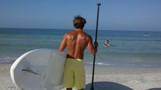 We offer paddleboarding lessons and rentals right on site!