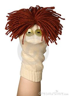 Homemade Hand Puppets | Funny Puppet Royalty Free Stock Images - Image: 14061409