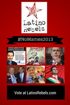 Announcing the #NoMames2013 Nominees: Time to Vote