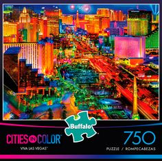 Las Vegas Jigsaw Puzzle (2000 Pieces) – PDK