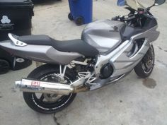 2005 Honda CBR600 Sportbike , Gray, 13,289 miles for sale in Los Angeles , CA
