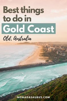 From surfing to going to spending a day in the Currumbin Wildlife Sanctuary, here's our guide to the best things to do on the Gold Coast in Australia. Attractions in Gold Coast, Gold Coast attractions, where to go in Gold Coast, what to do in Gold Coast, where to go in Queensland, What to see in Queensland, where to travel in Queensland, what to see in Queensland, where to go in Queensland. #Queensland #GoldCoast #queenslandaustralia Weekend Getaways For Couples, Romantic Weekend Getaways, Travel Guides, Travel Advice, Travel Tips, Best Beaches To Visit, Family Road Trips, Water Activities, Top Destinations