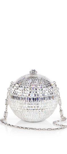 §Judith Leiber disco ball bag