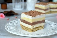"Prajitura ""sex la tava"" | MiremircMiremirc Cake Recipes, Dessert Recipes, Cheesecake, Romanian Food, Pastel, Nutella, Deserts, Food And Drink, Yummy Food"