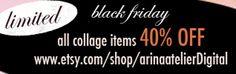 www.etsy.com/shop/arinaatelierDigital Black Friday 40% OFF Sale - NOW!!!