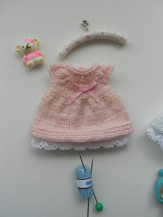 Knitting Dolls Clothes, Baby Doll Clothes, Crochet Doll Clothes, Knitted Dolls, Pet Clothes, Baby Knitting, Crochet Baby, Knit Crochet, Anna Dawson