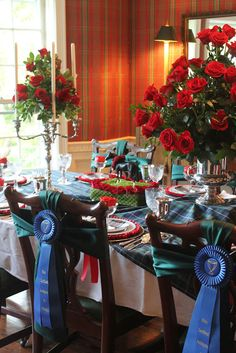 Derby Party Table Setting
