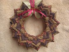 (7) Name: 'Quilting : No Sew Wreath Pattern